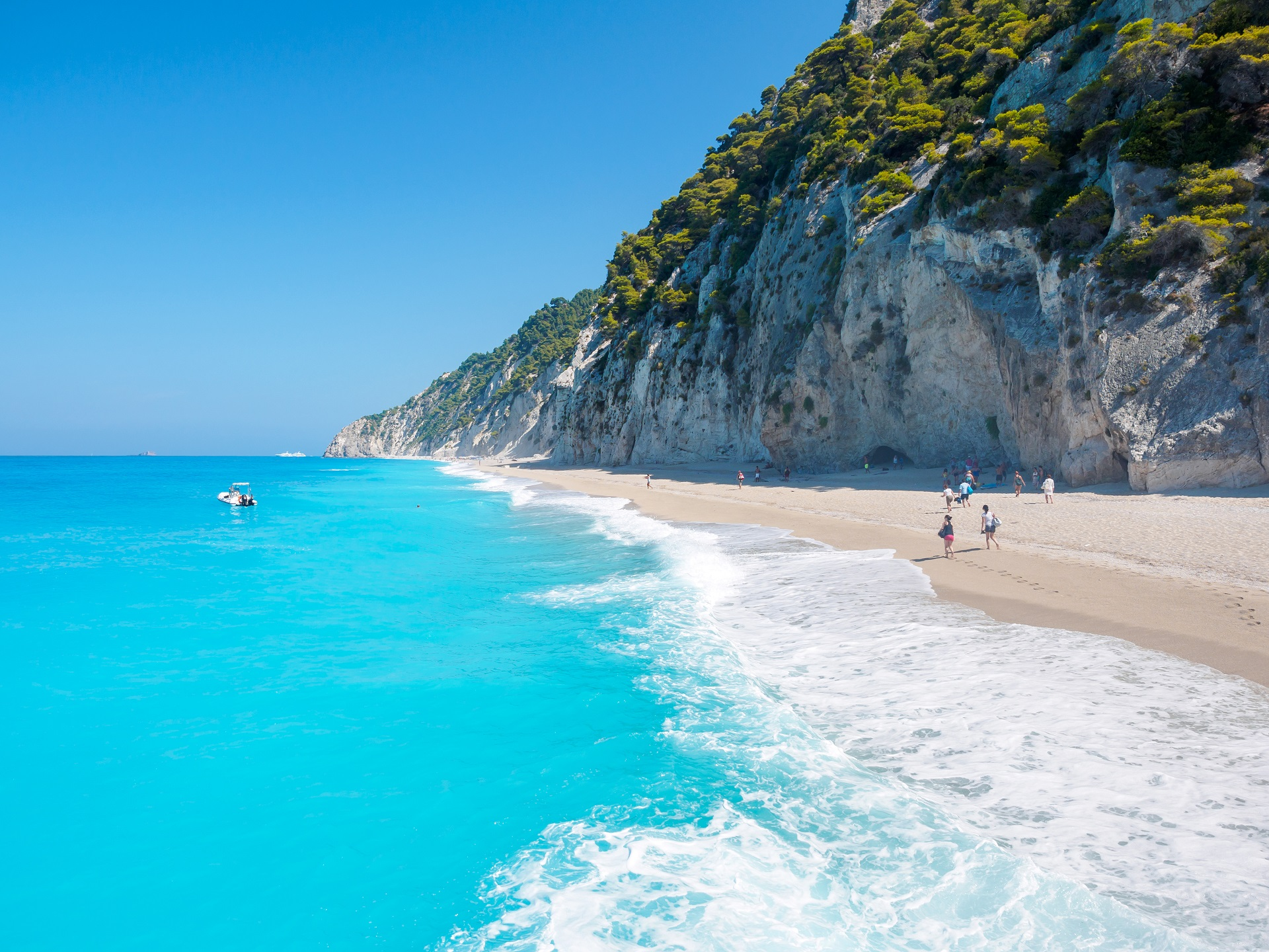 Egremnoi beach, Lefkada