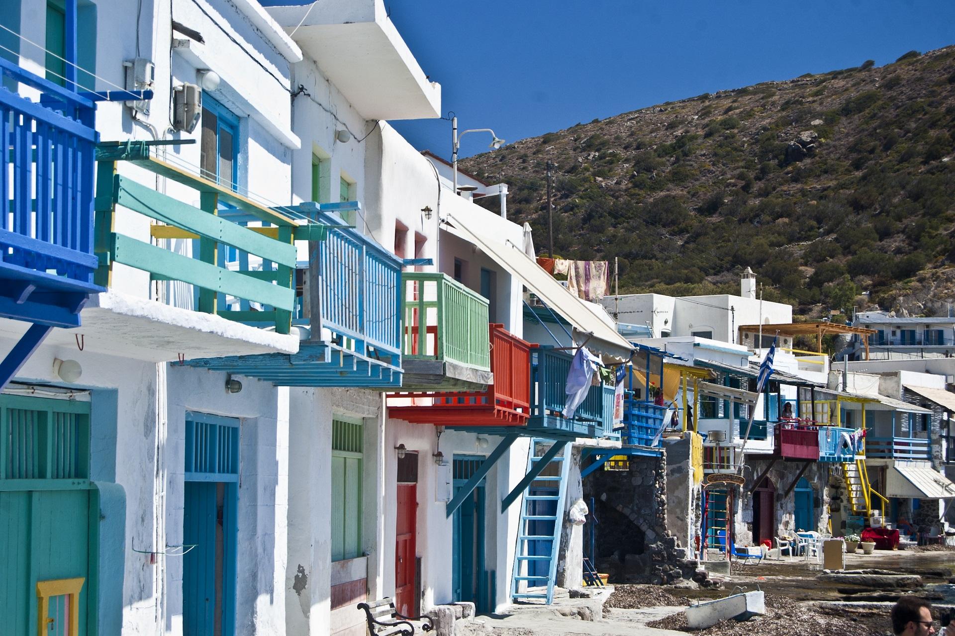 Klima village, Milos, Greece