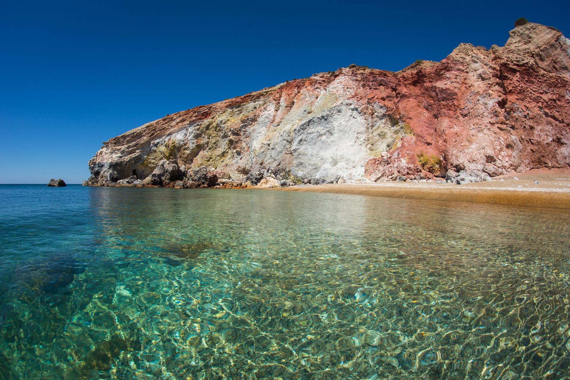 Paleochori beach, Milos, Greece