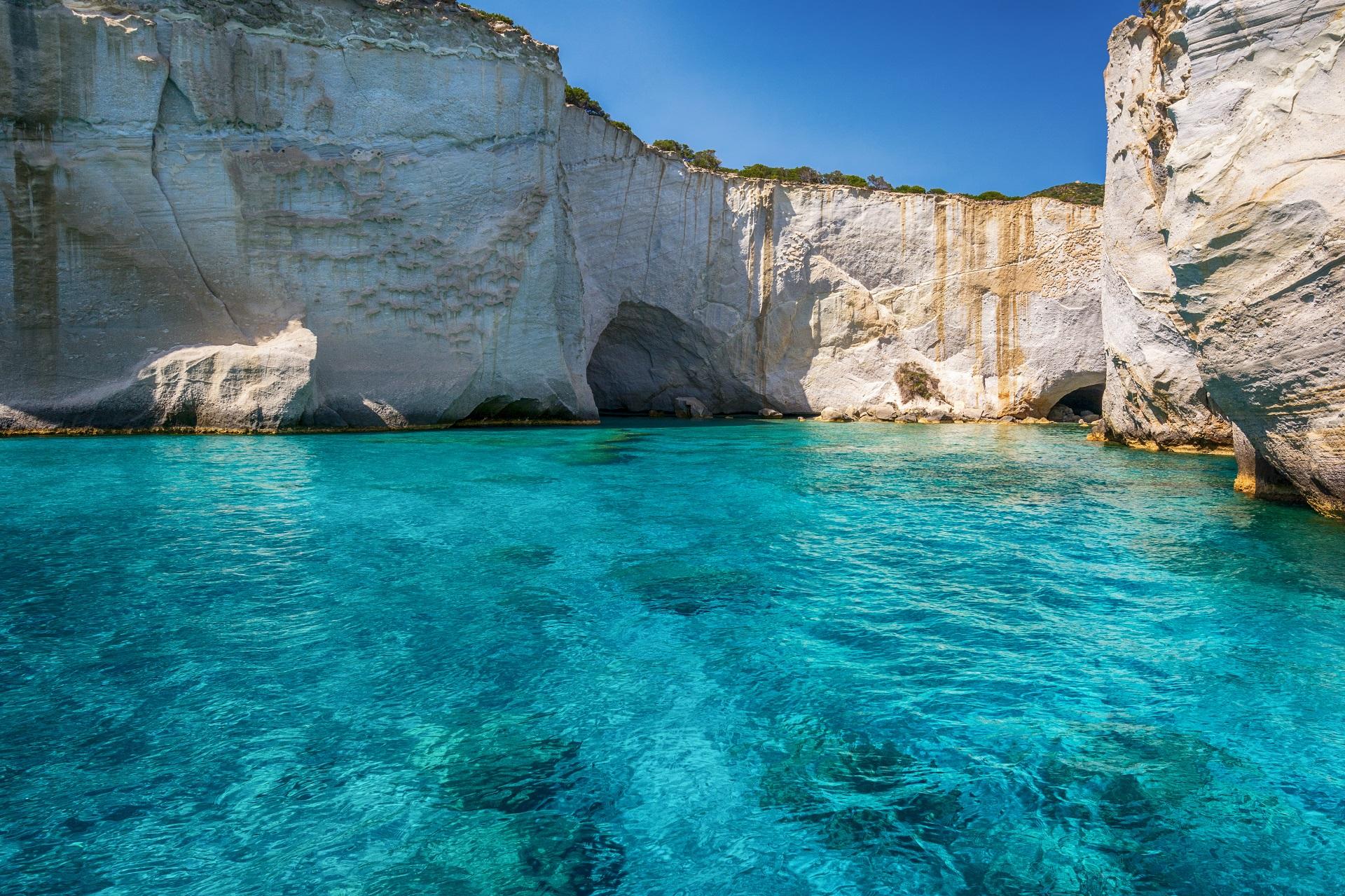 Kleftiko beach, Milos, Greece