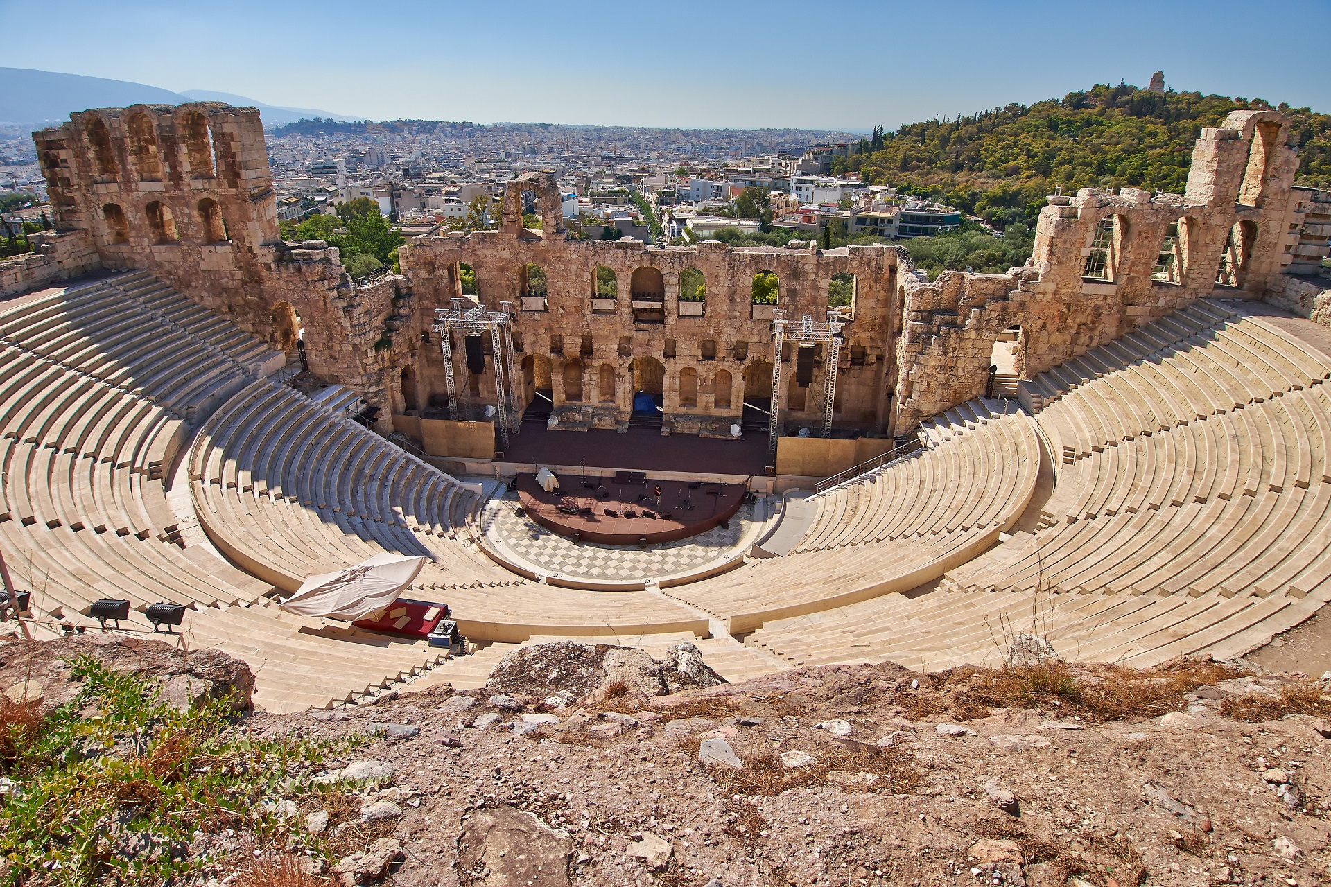 Odeon of Herodes Atticus - Explore Greece