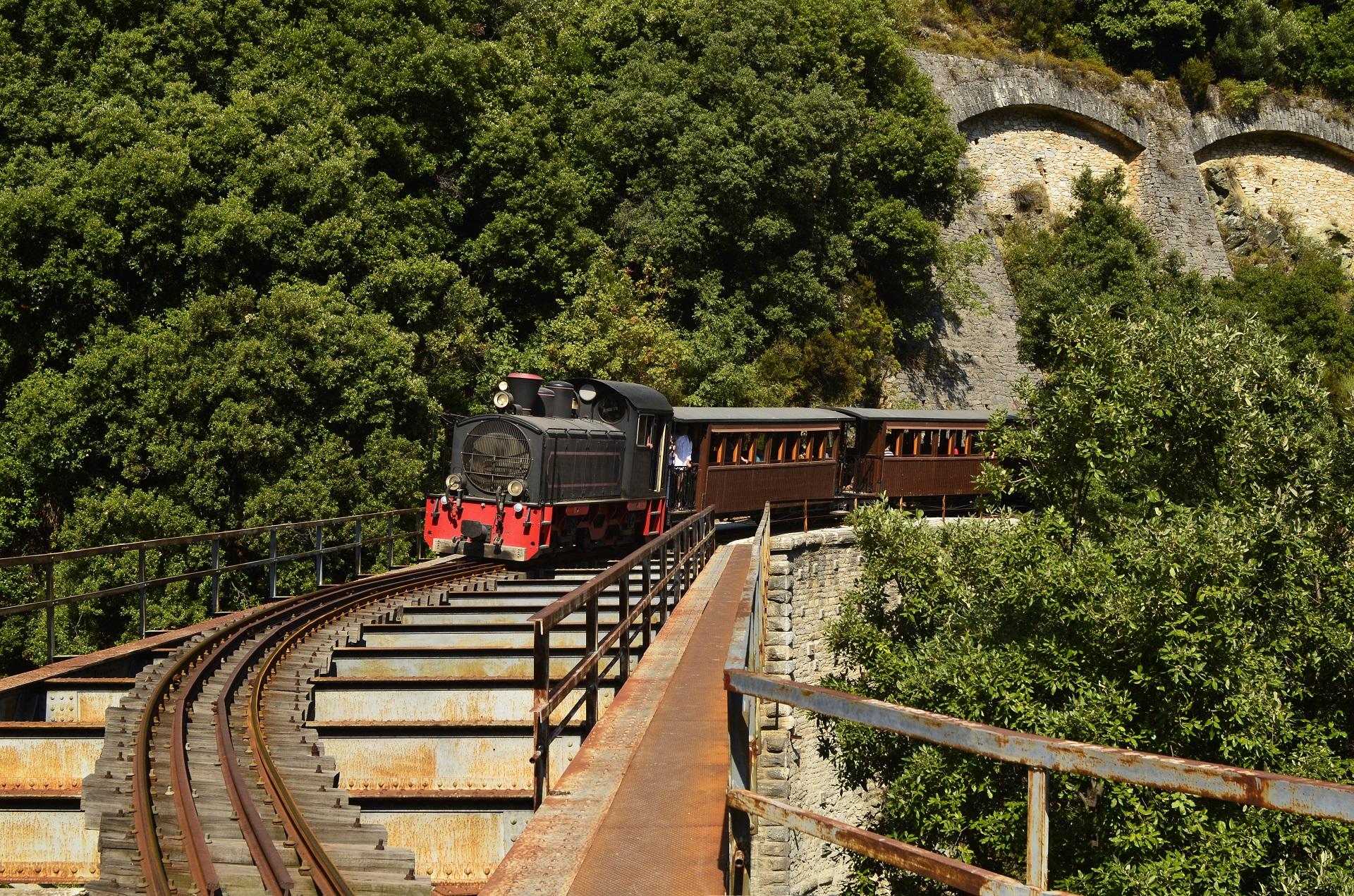 Montzouris-Smudgy train - Pelion
