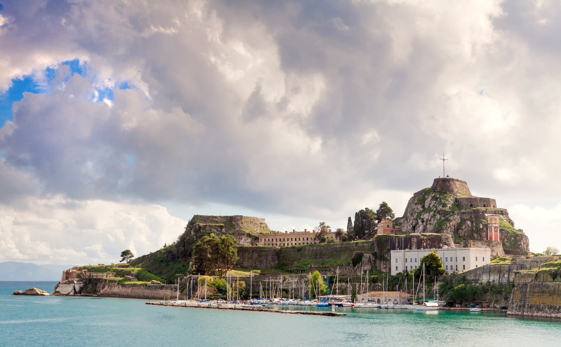 Corfu Old Town Fortress