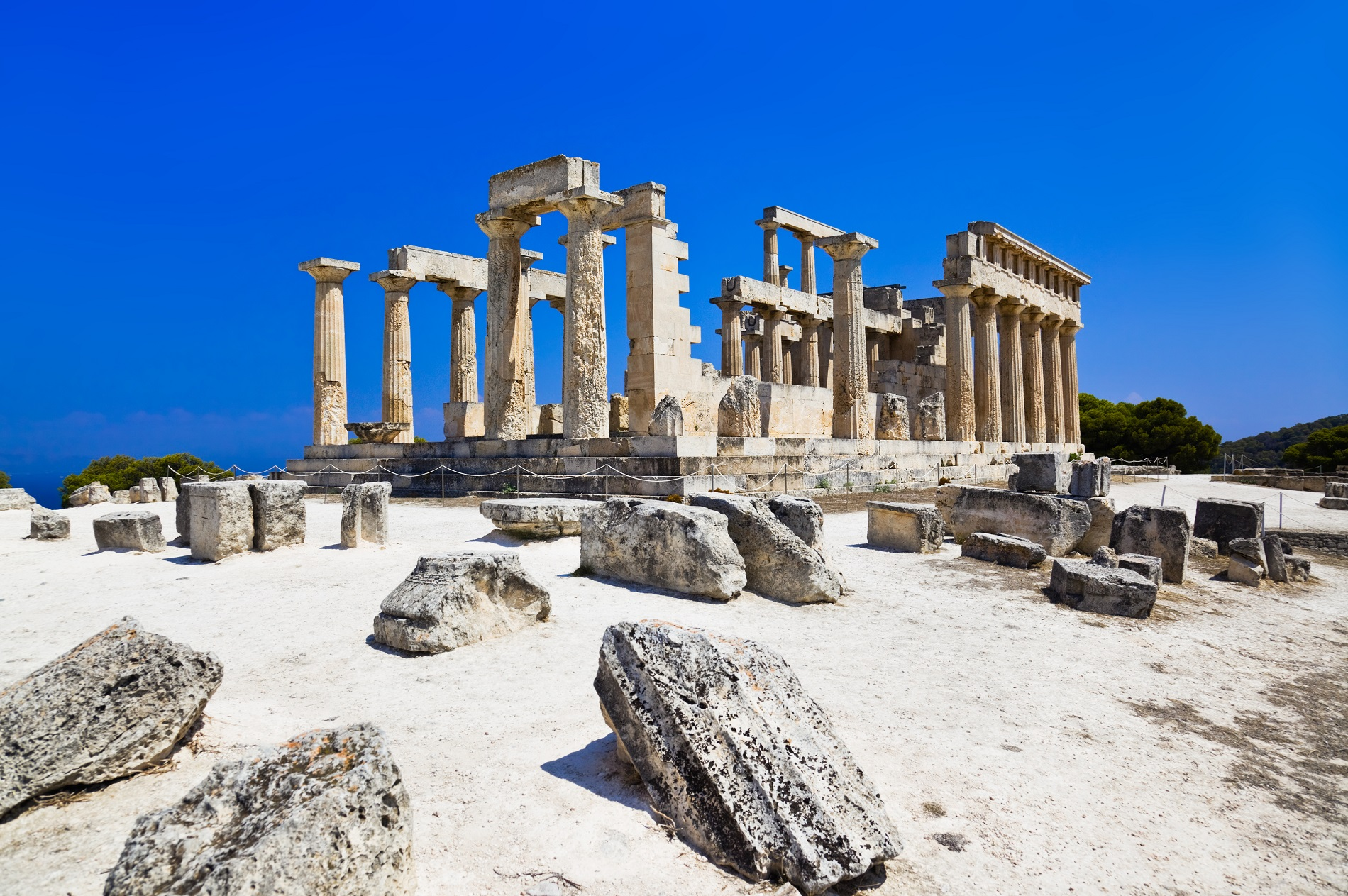 Afaia temple in Aegina