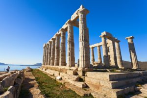 Temple of Poseidon - Sounion - Greece