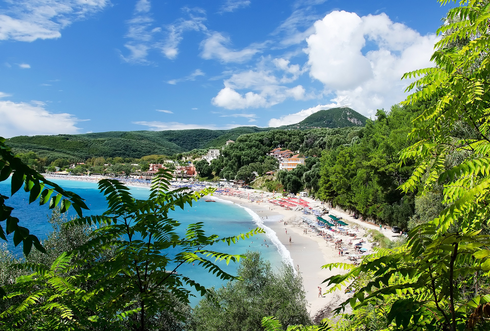 Beach near Parga.