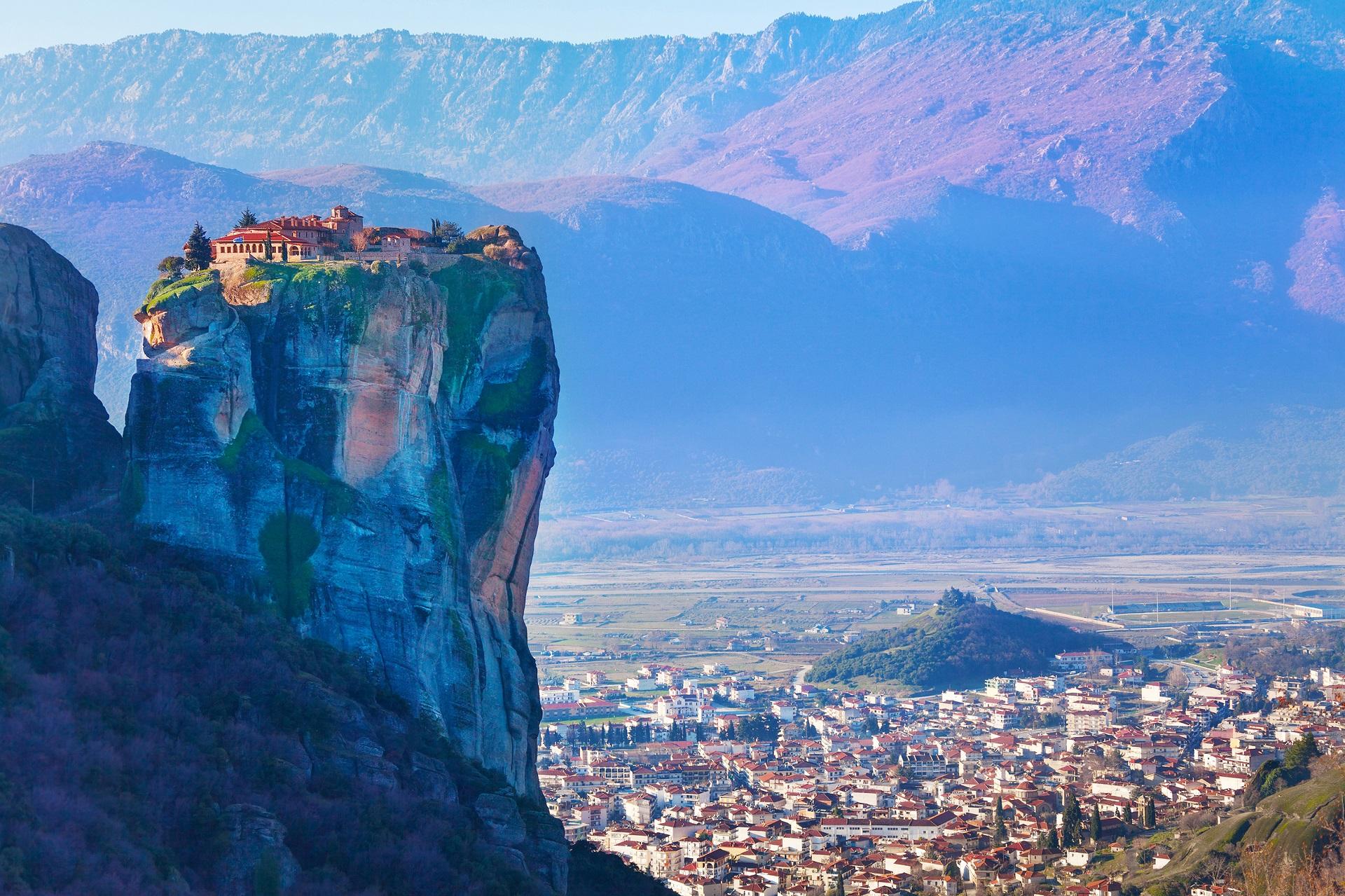 Meteora and Kalambaka