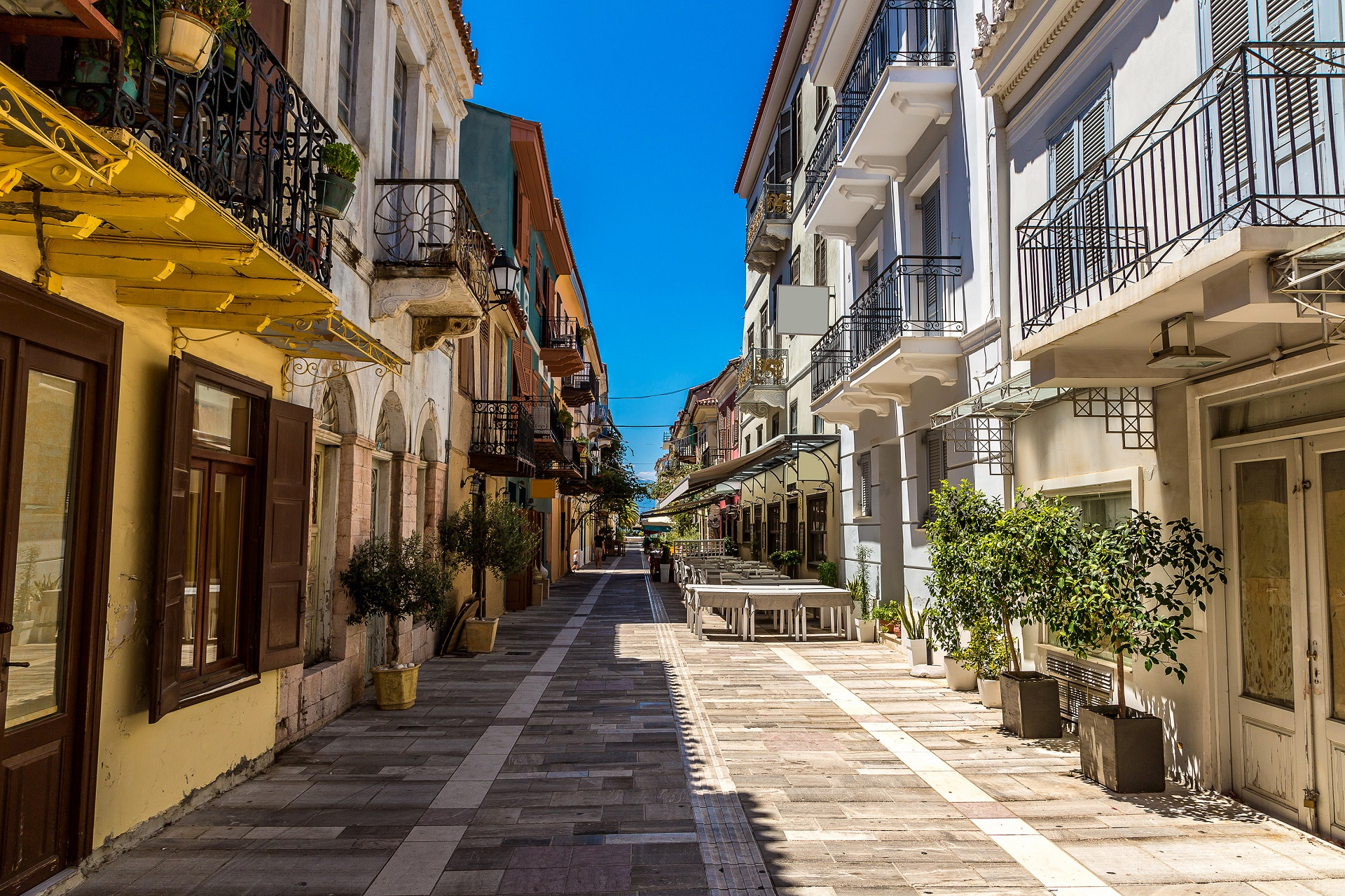 Streets in Nafplio